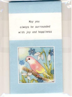 Sets of 3 Bourke's Parakeet Mini Envelopes - Boutique SWEET BIRDIE