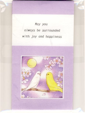 Sets of 3 Budgie Budgerigar Parakeet Mini Envelopes Emi-228 - Boutique SWEET BIRDIE