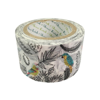 Birds in the Southern Island Japanese Washi Tape Masking Tape Shinzi Katoh Design - Boutique SWEET BIRDIE