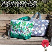 Sea Bird Cool Bag Eco Bag Shopping Bag with a Pouch - Boutique SWEET BIRDIE