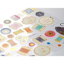 Sewing Japanese Washi Stickers (82381-006) - Boutique SWEET BIRDIE