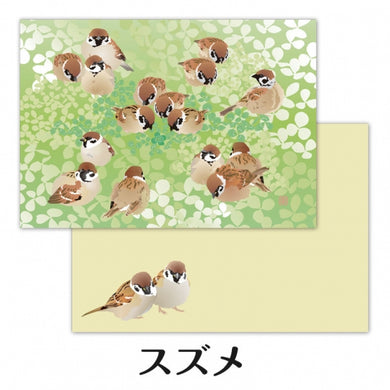Tree Sparrow Memo Pad (cm141) - Boutique SWEET BIRDIE