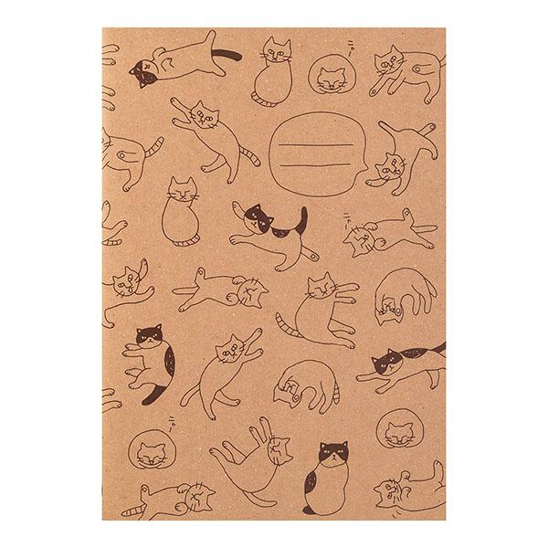 Cat A5 Notebook - Boutique SWEET BIRDIE