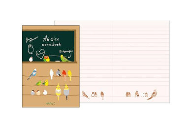 A6 Notebook Budgie Budgerigar Parakeet Cockatiel Finch Java Sparrow Canary - Boutique SWEET BIRDIE
