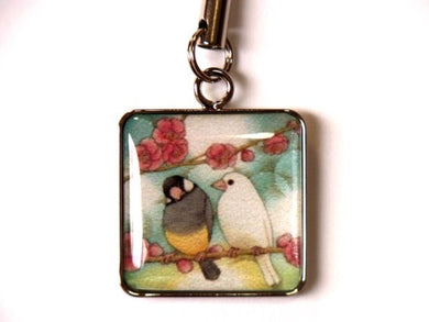 Java Sparrow Charm - Boutique SWEET BIRDIE