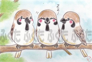 Tree Sparrow Postcard