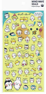 Stickers Cockatiel Penguin Hamster Rabbit Seal Cockatiel 79873 - Boutique SWEET BIRDIE