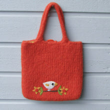 Cockatiel Wool Felted Bag - Boutique SWEET BIRDIE