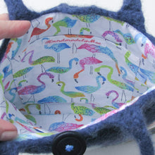 Pacific Parrotlet Wool Felted Bag