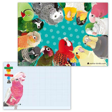 Memo Pad Indian Rose-necked Parakeet African Gray Parrot White-bellied Caique Black-headed Caique Galah Monk Parakeet Cockatiel Lorikeet Green-cheeked Parakeet Conure Macaw - Boutique SWEET BIRDIE