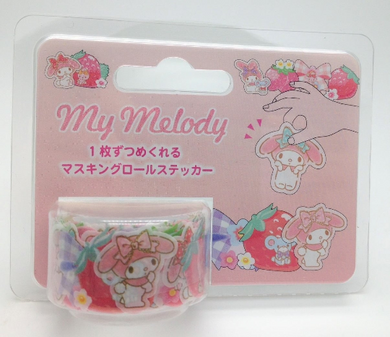 Sanrio Original My Melody Roll Stickers - Boutique SWEET BIRDIE