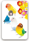 Lovebird Pass Holder