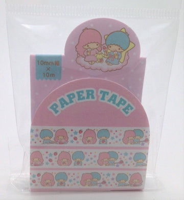Sanrio Original Little Twin Stars Paper Tape Masking Tape Slim Type (075256)