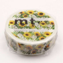 mt ex Sunflower Japanese Washi Tape Masking Tape MTEX1P138 - Boutique SWEET BIRDIE