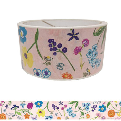 Flowers Packing Tape Craft Tape Shinzi Katoh Design - Boutique SWEET BIRDIE