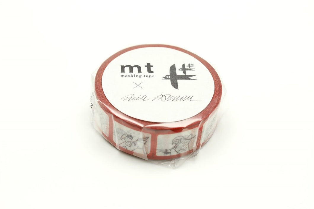 mt x Erik Bruun Bus Window Japanese Washi Tape Masking Tape MTERIK04 - Boutique SWEET BIRDIE