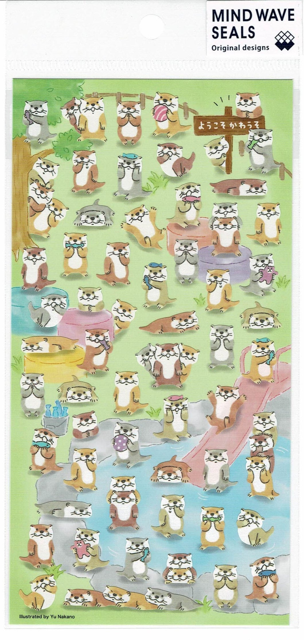Otter Stickers 79804
