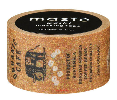 Café Maste Japanese Washi Tape Masking Tape (MST-MKT79-A) - Boutique SWEET BIRDIE