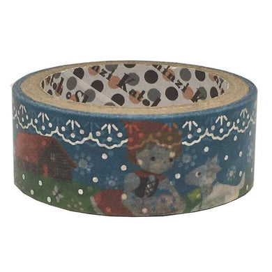 Heidi Silver Glitter Japanese Washi Tape Shinzi Katoh Design - Boutique SWEET BIRDIE