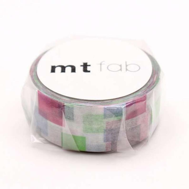 mt fab Block Japanese Washi Tape Masking Tape MTDSPR02