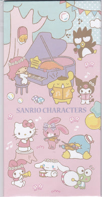 Sets of 3 Sanrio Original Sanrio Characters Envelopes with 3 Stickers - Boutique SWEET BIRDIE
