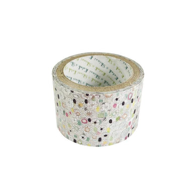 Splendid Silver Glitter Japanese Washi Tape Shinzi Katoh Design ks-dt-50006
