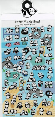 Panda Stickers with Gold Accent 24532