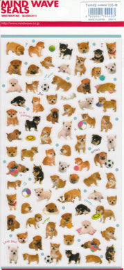 Dog Shiba Inu Stickers - Boutique SWEET BIRDIE