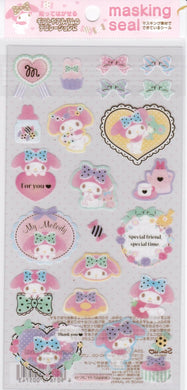 Sanrio Original My Melody Stickers - Boutique SWEET BIRDIE