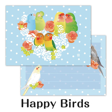 Creative Motion Pacific Parrotlet Lovebird Cockatiel Memo Pad cm139 - Boutique Sweet Birdie