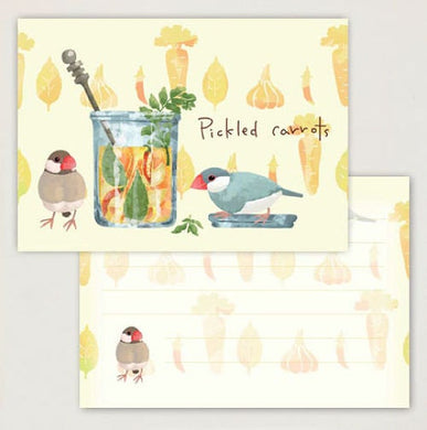 Creative Motion Java Sparrow Memo Pad (cm023) - Boutique SWEET BIRDIE