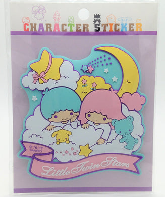 Sanrio Original Little Twin Stars Rubber Sticker - Boutique SWEET BIRDIE