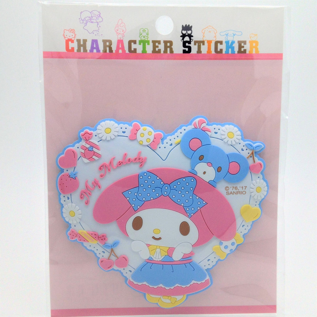 Sanrio Original My Melody Rubber Sticker - Boutique SWEET BIRDIE