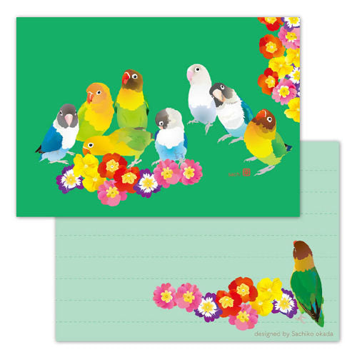 Creative Motion Lovebird Memo Pad (cm173) - Boutique SWEET BIRDIE