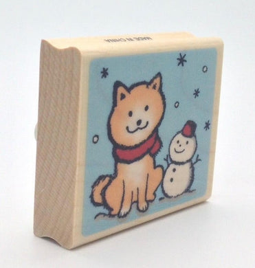 Dog Rubber Stamp Large Size  11232-014 - Boutique SWEET BIRDIE
