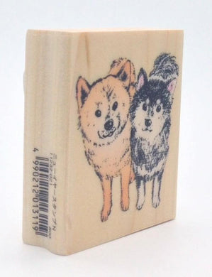 Dog Rubber Stamp Large Size  (11232-021) - Boutique SWEET BIRDIE