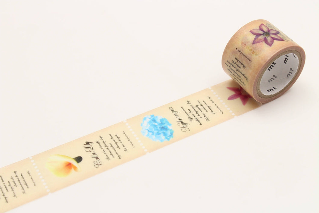 mt fab Flower Japanese Washi Tape Masking Tape - Boutique SWEET BIRDIE
