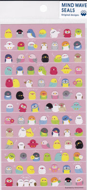 Bird Stickers Budgie Budgerigar Parakeet  Cockatiel Java Sparrow Cockatoo Macaw Lovebird Caique Owl Tree Sparrow, Bourke's Parakeet etc  78886 - Boutique Sweet Birdie