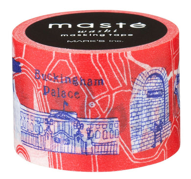 London Map City Maste Japanese Washi Tape Masking Tape