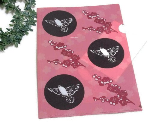 A4 File Folder  Organizer Java Sparrow (yukie-901) - Boutique SWEET BIRDIE