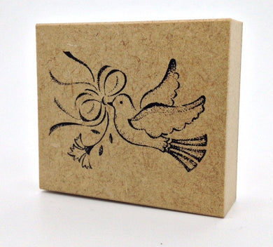 Bird Rubber Stamp Large Size - Boutique Sweet Birdie
