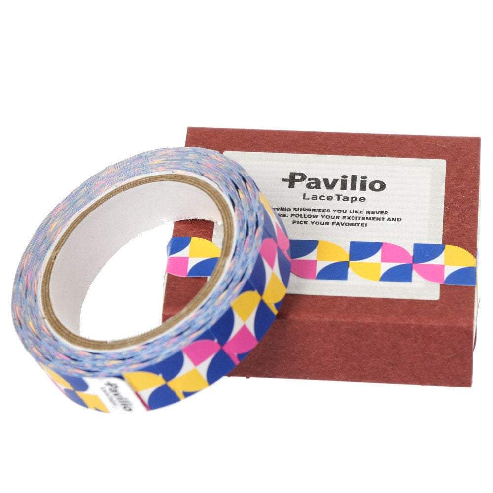 Lace Deco Tape Windmill Blue Pavilio MI-20-WB Mini Size - Boutique SWEET BIRDIE