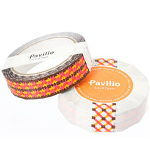 Lace Deco Tape Mesh Orange Pavilio Standard Size - Boutique SWEET BIRDIE