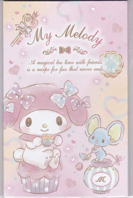 Sets of 6 Sanrio Original My Melody Mini Envelopes with 6 stickers - Boutique SWEET BIRDIE