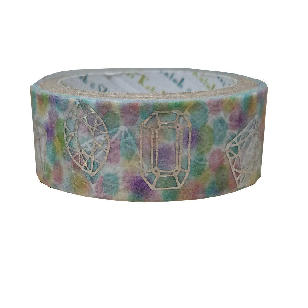 Jewelry Japanese Glitter Washi Tape Shinzi Katoh Design (ks-dt-10073) - Boutique SWEET BIRDIE
