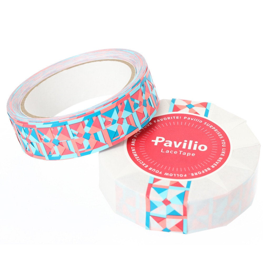 Lace Deco Tape Windmill Pink Pavilio Standard Size - Boutique SWEET BIRDIE