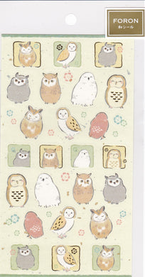 Owl Stickers with Gold & Silver Accent 5074148 - Boutique SWEET BIRDIE
