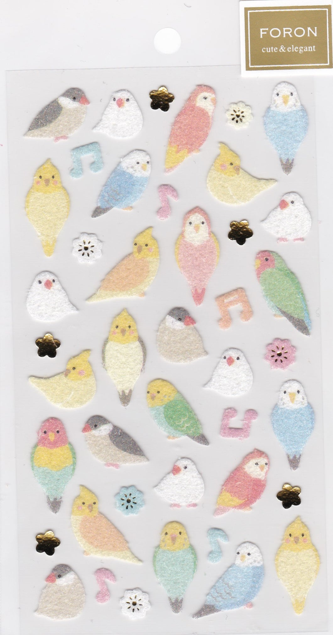 Bird Stickers Budgie Budgerigar Parakeet Java Sparrow Bourke's Parrot Cockatiel Lovebird 5214123 - Boutique Sweet Birdie