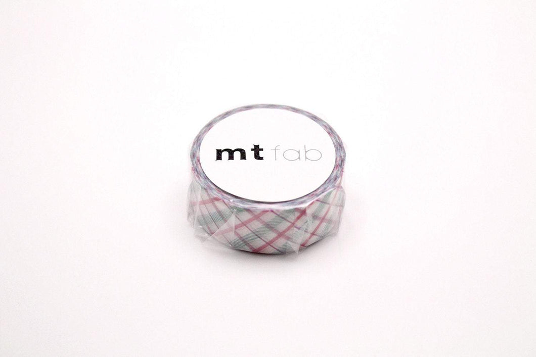 mt fab Check Purple Japanese Washi Tape Masking Tape MTPL1P01 - Boutique SWEET BIRDIE