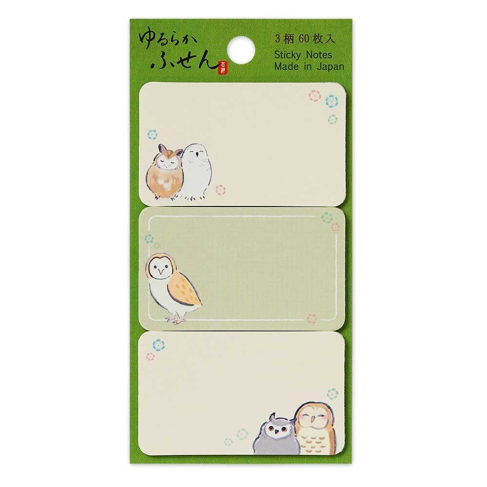 Owl Sticky Notes  4844404 - Boutique Sweet Birdie